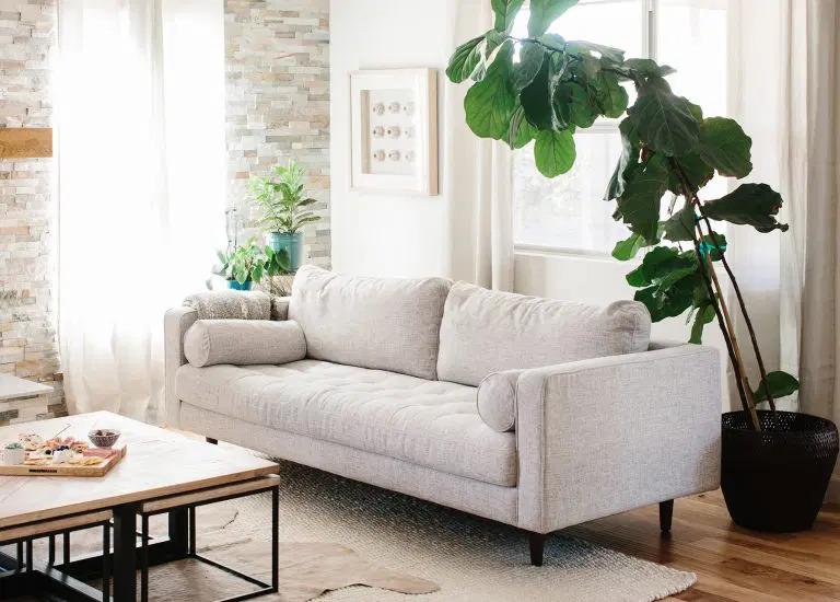преимущество ткани диван и кожаный диван